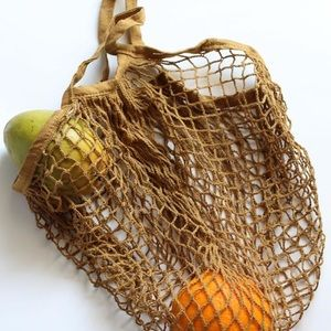 Net Bags in assorted colors.